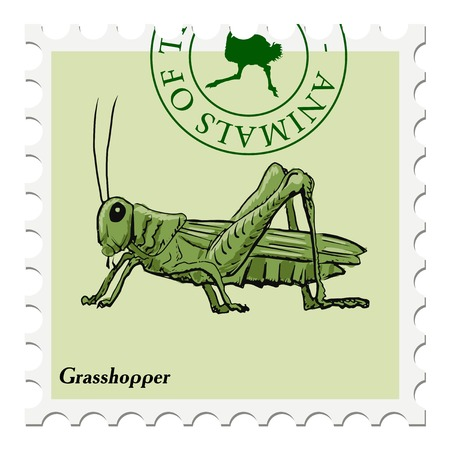 post stamp: vector, post stamp with grasshopper