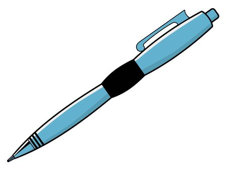 pen writing: vector illustration of pen, writing tool