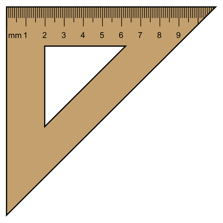 instrument of measurement: ruler, instrument of measurement