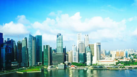 modern cityscape at daytime  Singapore photo