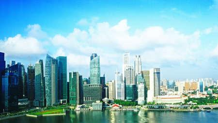 modern cityscape at daytime  Singapore