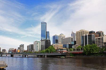 melbourne australia: Beautiful view of Melbourne city