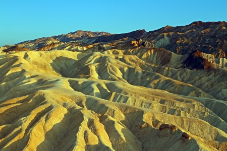 Zabriskie Point at Death Valley National Park photo