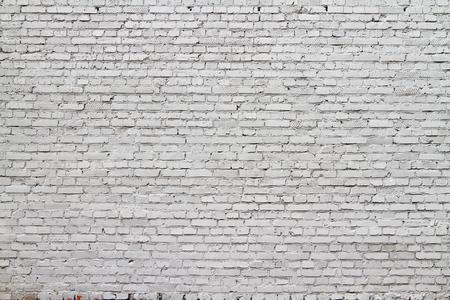 高解像度白いレンガの壁のテクスチャ 写真素材