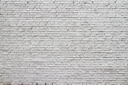 Hoge resolutie witte bakstenen muur textuur