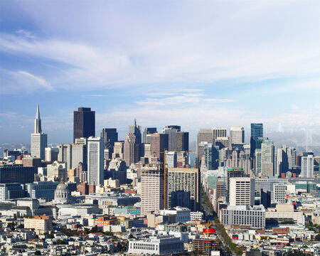 san francisco city panorama at daytime photo