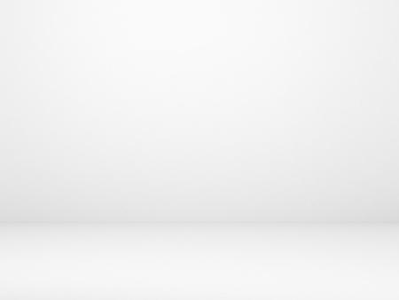 muro bianco e pavimento in cemento Archivio Fotografico