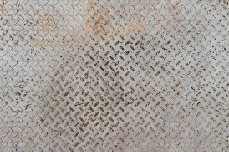 punched: pattern on a floor which made of metal