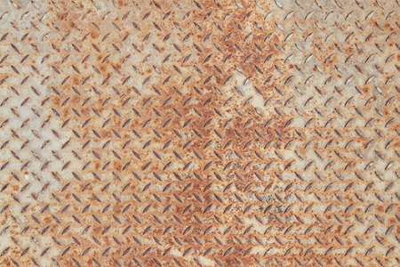 blowup: old background of metal with repetitive patten Stock Photo