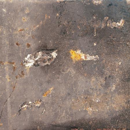 blowup: scratch metal texture, iron background