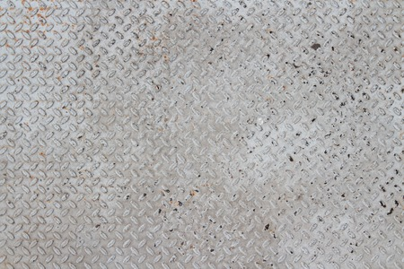 blowup: pattern on a floor which made of metal