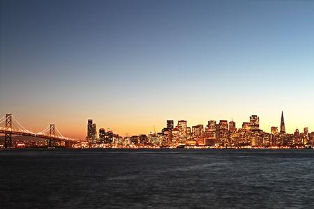 Golden Gate, San Francisco at sunset, California, USA. photo
