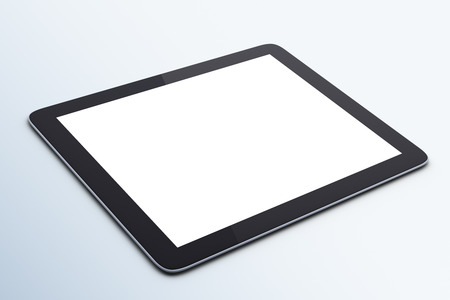 blank tablet: Blank digital tablet Stock Photo