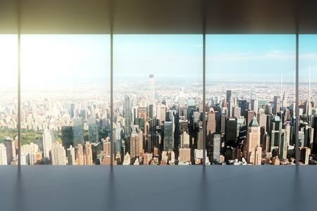 modern leeg kantoor
