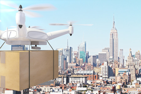 despatch: Drone deliveries box through the city