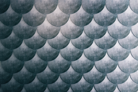 escamas de peces: pescado marino abstracto escalas de fondo  fondo de pantalla. Representación 3D