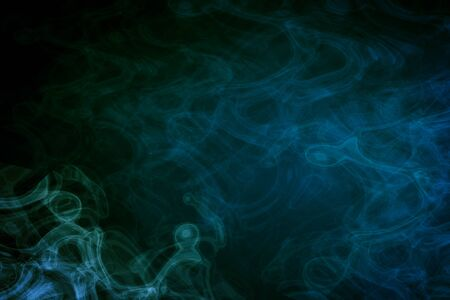 Abstract green smoke backgroundwallpaper