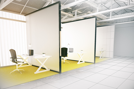 71 Offices With Partitions Stock Illustrations, Cliparts And ...