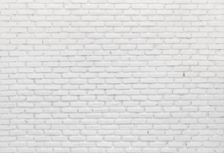 Textured white brick wall background Stock Photo - 74349428