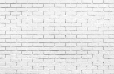 Geweven wit bakstenen muurbehang Stockfoto