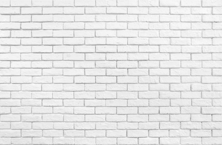 Textured white brick wall wallpaper
