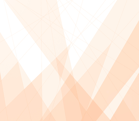 peachy: Creative peachy triangular background