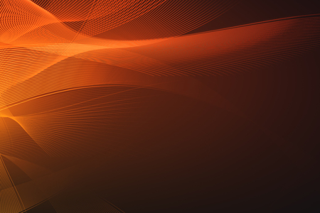 Creative orange linear background