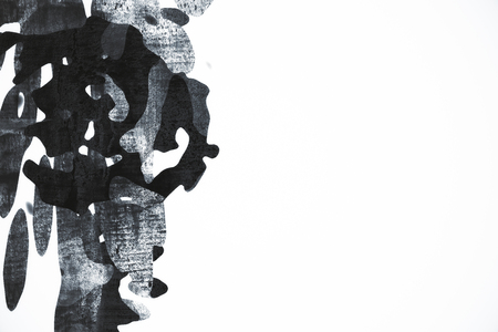 smooth background: White background with abstract grey pattern. Art concept