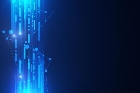 추상 회로 보드 배경입니다. 미래의 개념. 3D 렌더링 스톡 콘텐츠