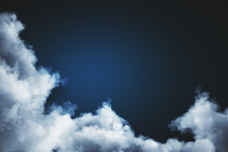 Abstract cloudy sky backdrop with copy spave