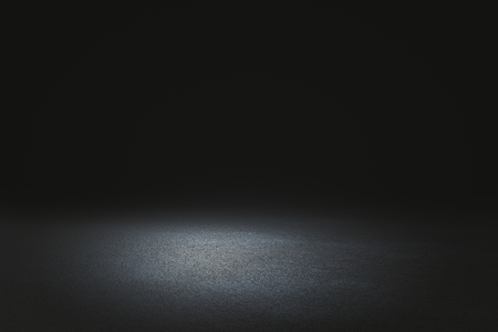Creative black road background. Copy space