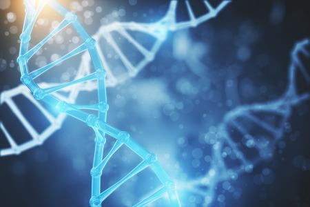 Abstrakte DNA Textur . Wissenschaft und Innovationskonzept . 3D-Rendering Standard-Bild - 93870299