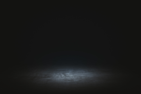 Abstract dark wallpaper with spotlight. Presentation concept