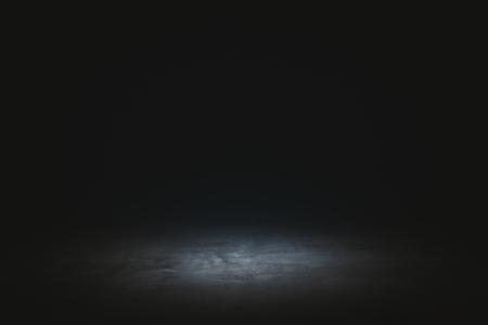 Abstract dark wallpaper with spotlight. Presentation concept