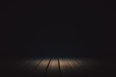 스포트 라이트와 추상 어두운 배경입니다. 프리젠 테이션 컨셉