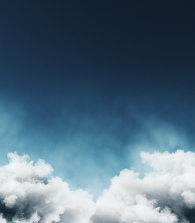 Creative cloud sky background. Dreams and nature concept