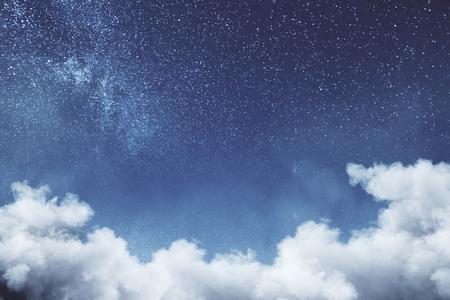 Texture de ciel nuage créatif. Concept de rêves et de la nature