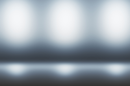 abstract technology blurry lights on grey background suitable for your logo or text. 3D rendering