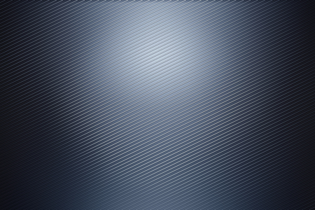 Digital dark gray metal wallpaper. 3D Rendering Imagens