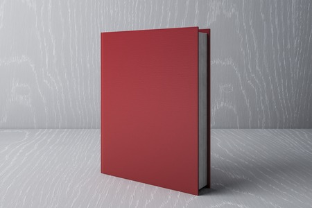 red book. Education Concept. 3D Rendering