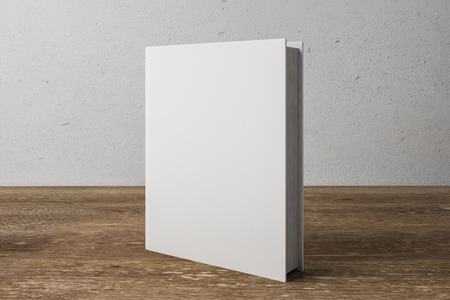 white book. Education Concept. 3D Rendering Stock Photo