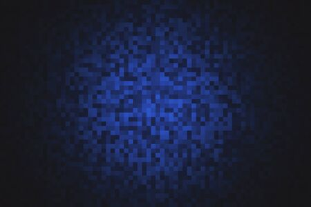 Telón de fondo de píxeles digitales creativos. Concepto de diseño web. Representación 3D