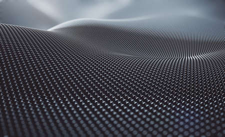 Creative silver circles backdrop mesh.