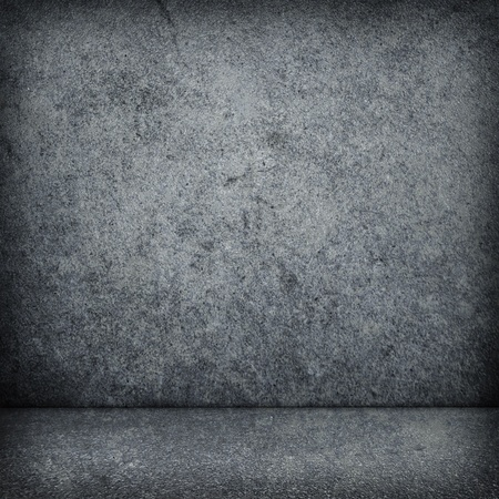 cracked wall:   1057;oncrete wall  Large concrete wall  Texture  Background  Image of dark concrete wall and floor Stock Photo