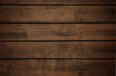 dark wood: old brown timber wall texture Stock Photo