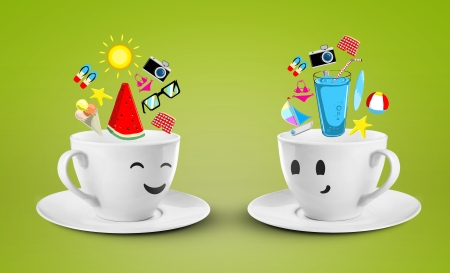 two happy cups dream vocation photo