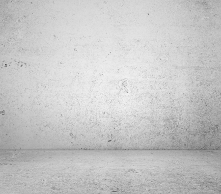 white concrete wall and floor Stock Photo - 14276748