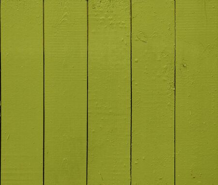 wooden wall painted in green, texture photo