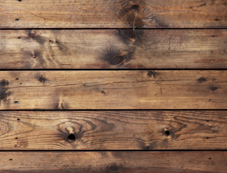 knotted: High resolution brown floor boards Stock Photo