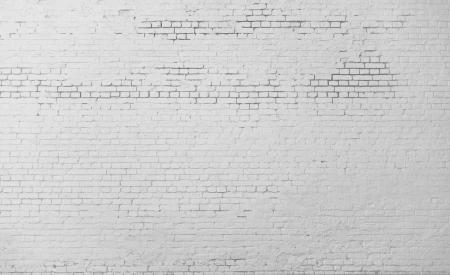 De alta resolución de blanco la pared de ladrillo